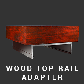 Railing Series wood top
