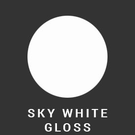 sky white gloss color