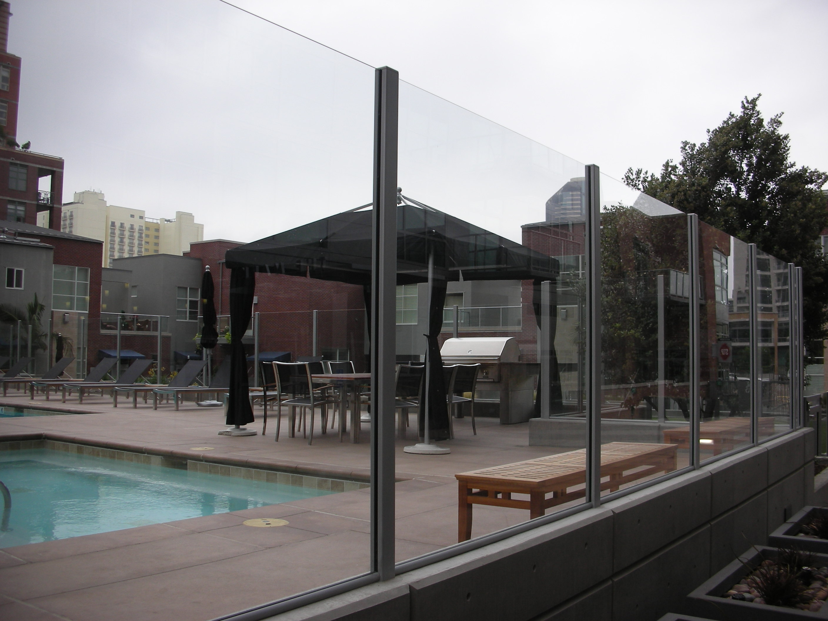 Residential Glass Pool Enclosure